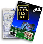 Air Chek Radon Test
